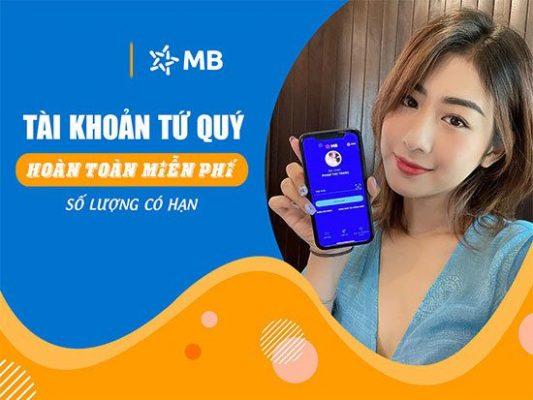 Cách mở tài khoản MB Bank Online